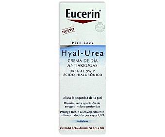 EUCERIN Crema antiarrugas día, Hyal-Urea, piel seca 50 Mililitros