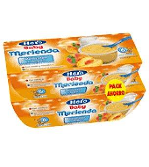 Hero Baby Tarrito de melocotón y yogur Merienda