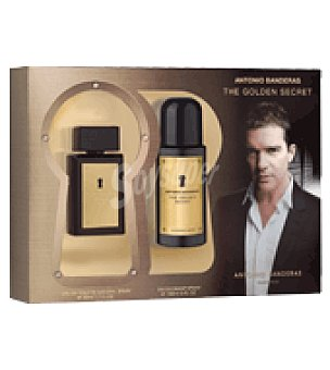Antonio Banderas Estuche Colonia The Golden Secret 50ml + desodorante spray 150ml. 1 ud