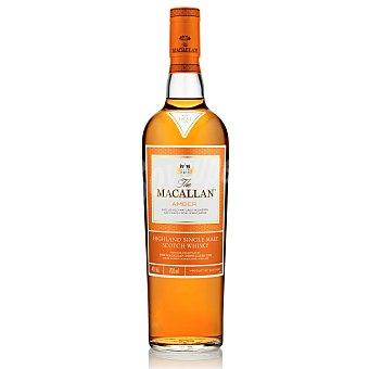 The Macallan Whisky escocés amber 12 años Botella 70 cl