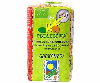 Ecolecera Garbanzos de Aragón de cultivo ecológico 500 Gramos
