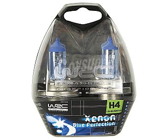 WRC Bombillas de xenón para automóvil, luz blanca azulada, modelo H4, potencia: 55-60W 1 Unidad