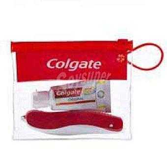 Colgate Kit viaje pasta+ cepillo 1uni