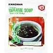 Consomé instantáneo de alga wakame sobre 18 g sobre 18 g Kikkoman
