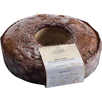 CALIDAD ARTESANA Bizcocho de chocolate pieza 375 g