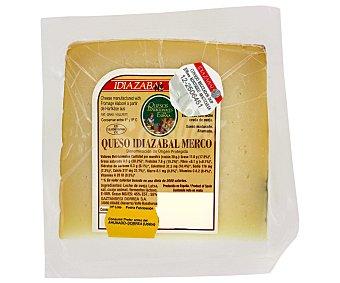 Idiazabal Queso de oveja en cuña idiazabal merco con denominación de origen protegida 300 Gramos