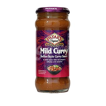 Patak's Salsa curry Mild Frasco 350 g