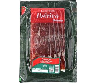 Auchan Paleta de cebo ibérica (50% raza ibérica), cortada en lonchas 100 g