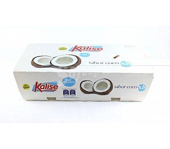 Kalise yogur sabor coco pack 8 envase 125 g