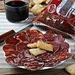 Lote embutido ibérico: Lomo cebo 275 g. + Chorizo extra 275 g. + Salchichón extra 275 g. 1 ud Villar