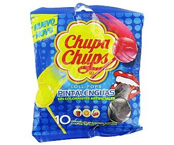 Chupa Chups Pintalenguas bolsa 10 ud