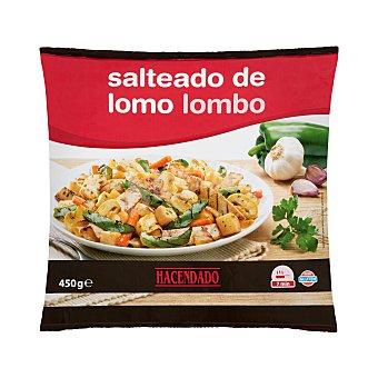 Hacendado Salteado lomo (lomo, patatas, pimiento verde, zanahoria, champiñón y cebolla) congelado Paquete de 450 g