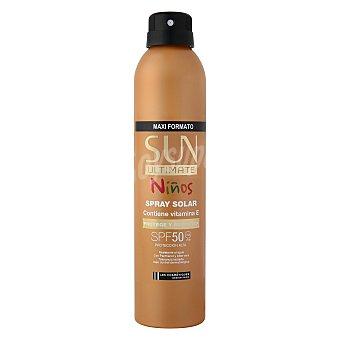 Les Cosmétiques Spray Solar FP50 Sun Ultimate Niños con Vitamina E 250 ml