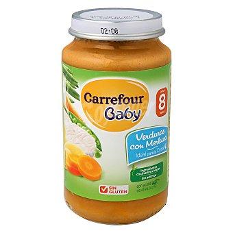 Carrefour Baby Tarrito de verduras con merluza 250 g