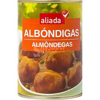 ALIADA albóndigas de carne de cerdo y ternera lata 400 g
