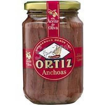 Ortiz Anchoa en aceite oliva Tarrina 189 g
