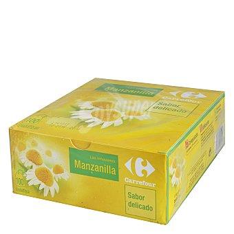 Carrefour Manzanilla en bolsitas 100 ud