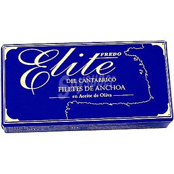 ELITE Filetes de anchoa en aceite de oliva Lata 30 g neto escurrido