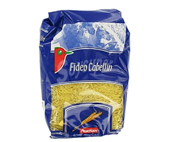 Auchan Pasta de Trigo Fideo Cabellin Fideo Cabellin1kg