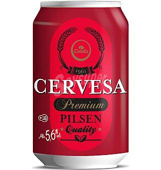 Condis Cerveza Lata 33 cl