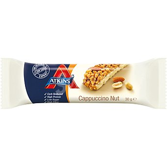 Atkins advantage Barrita snacks de capuchino y nueces Envase 37 g