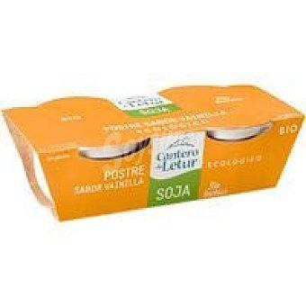 El Cantero de Letur Natillas de soja de vainilla Pack 2x125 g