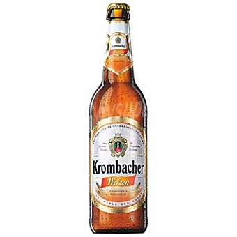 KROMBACHER Weizen Cerveza de trigo alemana Botella 50 cl