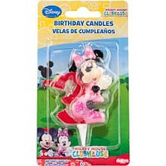 Minnie Vela Nº3 6 Pack 1 unid