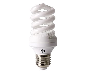 SEVENON Bombillas de bajo consumo, 15 Wattios, casquillo E27 (grueso), luz fría 2 unidades
