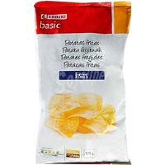 Eroski Basic Patatas fritas lisas Bolsa 170 g