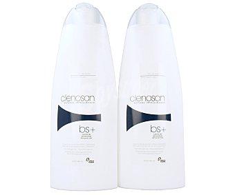 CLENOSAN Leche corporal especial para pieles sensibles y delicadas 2 unidades de 750 mililitros