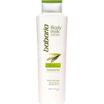 Babaria Body Milk de oliva Bote 500 ml