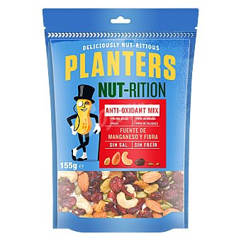 Planters Cocktail de frutos secos Anti-oxidant mix sin sal Planters 155 g