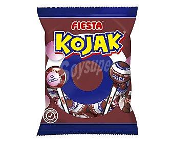 FIESTA Kojak Caramelos con palo, chicle con cola 105 g