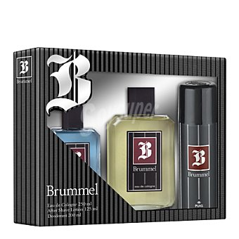 Brummel Estuche colonia 250 ml. + after shave 125 ml. + desodorante 200 ml. 1 ud