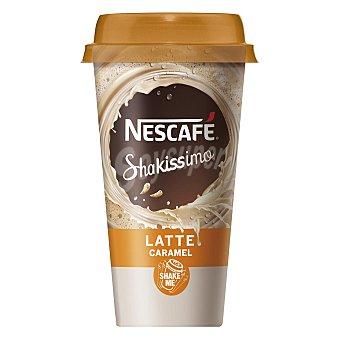 Nescafé Shakissimo Café con leche con caramelo sin gluten Vaso 190 ml