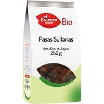 EL GRANERO Pasas sultanas Paquete 250 g