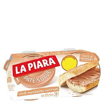 La Piara Sólo Natural Paté suave Pack 2 lata x 75 g