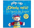 Pop-up ¿Dónde está? La hora de jugar. VV.AA., Género: Infantil, Editorial:  Bruño