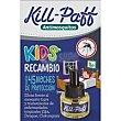 Insecticida niños recambio antimosquitos Pack 1 ud Kill-Paff