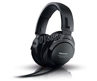 PHILIPS SHP2600 Auricular tipo casco cerrado Color negro