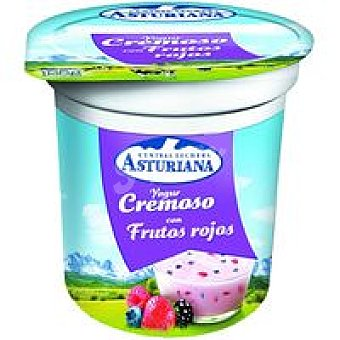 Central Lechera Asturiana Yogur cremoso de frutos rojos Tarro 125 g