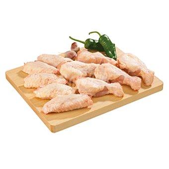 Alitas de pollo partidas peso aproximado Bandeja 490 g