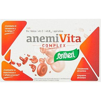 Santiveri Anemivita Complex combate el cansacio y la fatiga ápsulas envase 40 c