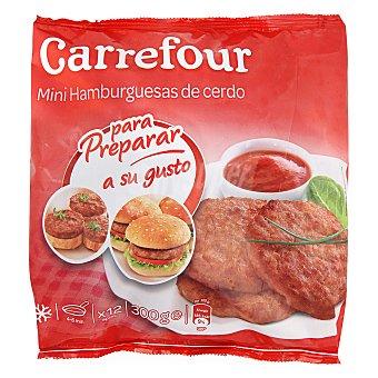 Carrefour Mini hamburguesas de cerdo 300 g