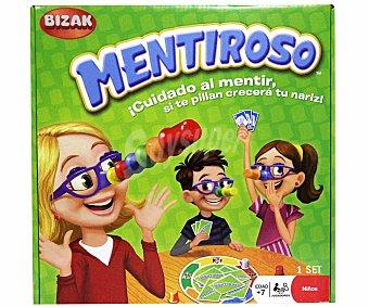 BIZAK Mentiroso, juego de mesa