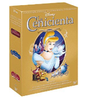 Pack cenicienta 1-3 dvd