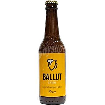 BALLUT Extremeña y Natural Cerveza rubia artesana botella 33 cl 33 cl