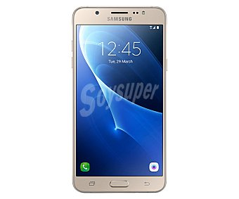 """Samsung Smartphone libre J7 dorado, procesador: Octa core, Ram: 2GB, almacenamiento: 16GB ampliable mediante tarjetas microsd, pantalla: 5,5"""" 1280 x 720 px, cámara: 13 Mpx, conectividad , Android 4G"""