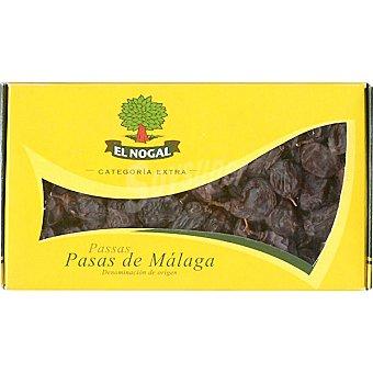 El Nogal Uvas pasas Moscatel de Málaga categoría extra denominación de origen Envase 250 g